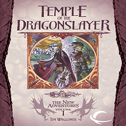 Temple of the Dragonslayer audiobook cover art