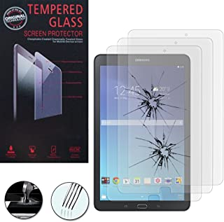 Funda para Samsung Galaxy Tab E Lite 8.0 con Protector de Pantalla y l/ápices /ópticos PET Pel/ícula Protectora de Pl/ástico y l/ápiz t/áctil AFUNTA Anti-ara/ñazos Convertible Mango Stand EVA Case