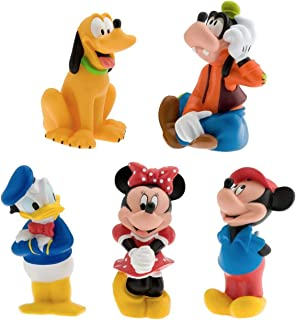 mickey mouse bath toy set