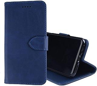 جراب هاتف Lenovo K5 Note (2018)، جراب محفظة جلد قلاب مع فتحة للبطاقة، حامل وحامل وقفل مغناطيسي، جراب جلد Lenovo K5 Note (2...