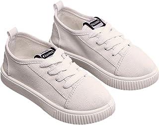 Plus Nao(プラスナオ) 靴 レースアップシューズ スニーカー 紐靴 カジュアル ぺたんこ靴 フラットシューズ 子供用 紐タイプ ひも靴 楽チン