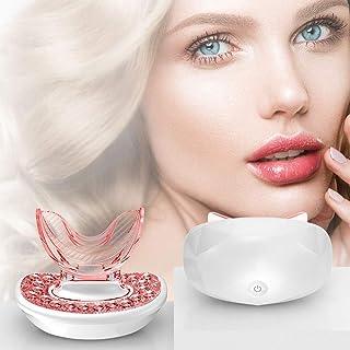 PROSFIA Newest Light Therapy Lip Care Device Anti-Aging & Lip Plumper Treatment Lip & Skincare Beauty Kit - Lip Plumper De...