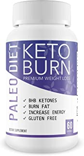 Paleo Diet Keto Burn - Burn Fat not Carbs - Ketosis is The Easiest Way to Burn Fat - Lose Weight - Reduce Appetite - Just Simply Diet Keto and Become a Keto Slim pro - Keto Dieting Burns Fat Fast