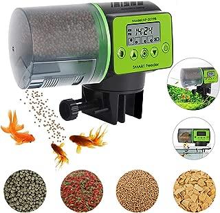 IMISNO 2019 Upgraded Automatic Fish Feeder, Digital Fish Food Dispenser for Aquarium or Fish Tank, Vacation Auto Betta Fish Battery-Operated Feeder