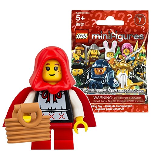 レゴ(LEGO) ミニフィギュア シリーズ7 遊びに来た女の子 未開封品  LEGO Minifigures Series7 Grandma Visitor 【8831-16】 [並行輸入品]