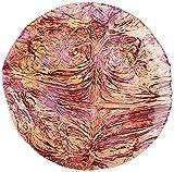Platón de balón rojo granada, color morado y naranja de 40 cm