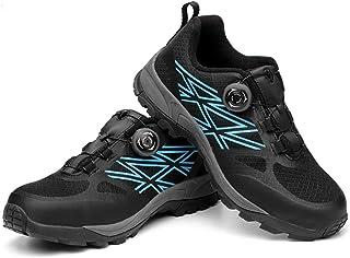 488fc0d5a5 Zapatos de seguridad Zapatillas de deporte de seguridad for hombre, negras, con  punta de