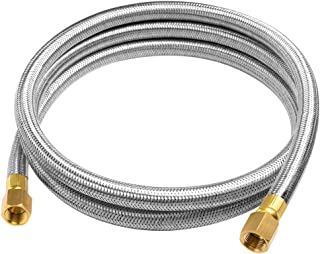 GASPRO 6ft Propane Hose Assembly Braided Stainless Steel - 3/8