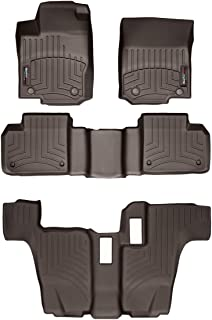 WeatherTech Custom Fit FloorLiner for GL-Class/GLS-Class - 1st, 2nd, 3rd Row (Cocoa)