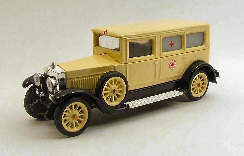 Rio RI4385 FIAT 519s AMBULANZA 1930 Croce Rossa Italiana 1 43 MODELLINO DIE CAST kompatibel mit