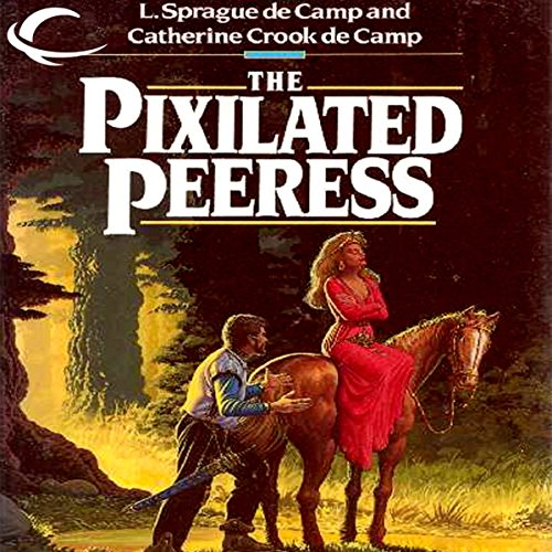 The Pixilated Peeress audiobook cover art