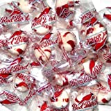 Red Bird Peppermint Puffs WRAPPED Candy Mints - 2 Pounds