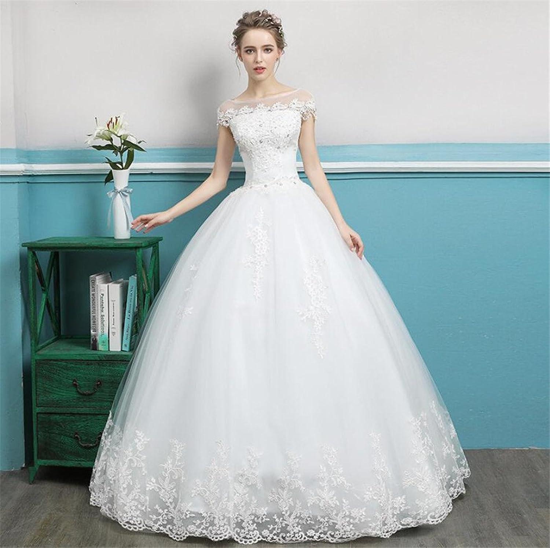 a57d86cbd90db Wedding Dress, Bridal Gown Elegant Unique Princess Fance Long Lace ...