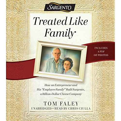 Treated Like Family audiobook cover art