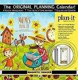 Mom's Plan-It 17 Month 2019 Planning Calendar: Includes Magnetic Hanger