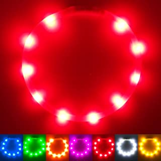 PetSol Extra Bright USB Rechargeable LED Dog Collar