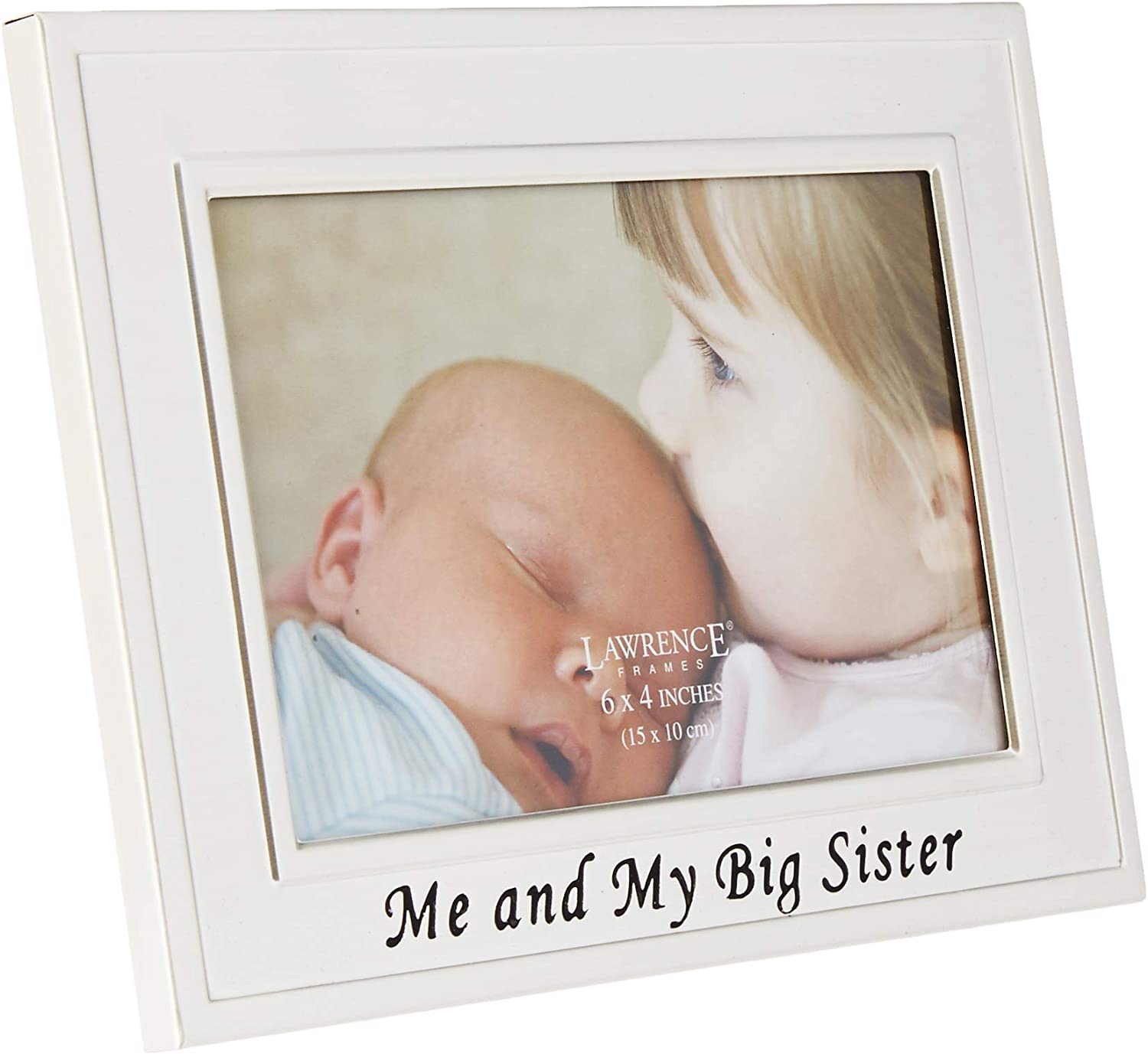 Lawrence Frames Big Sister Silver Plated 6x4 Picture Frame - Me