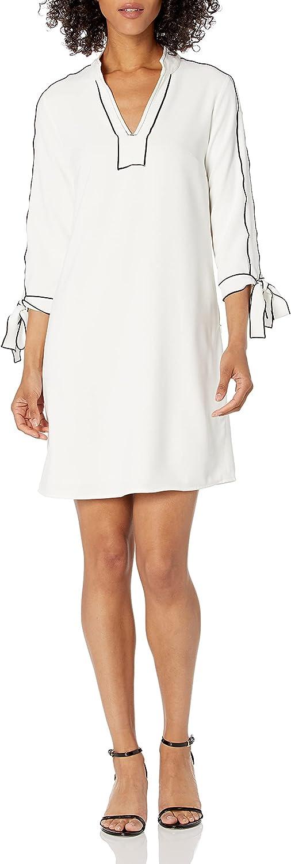 Amazon Ranking TOP11 Brand - Lark Ro Women's Tie Detail Sleeve Three Quarter Superlatite