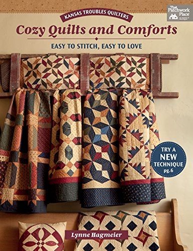 Kansas Troubles Quilters Cozy Quilts and Comforts: Easy to Stitch, Easy to Love (English Edition)