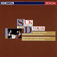 Dvorak: Piano Trio No. 3 & 4 by Suk Trio (2010-09-22)
