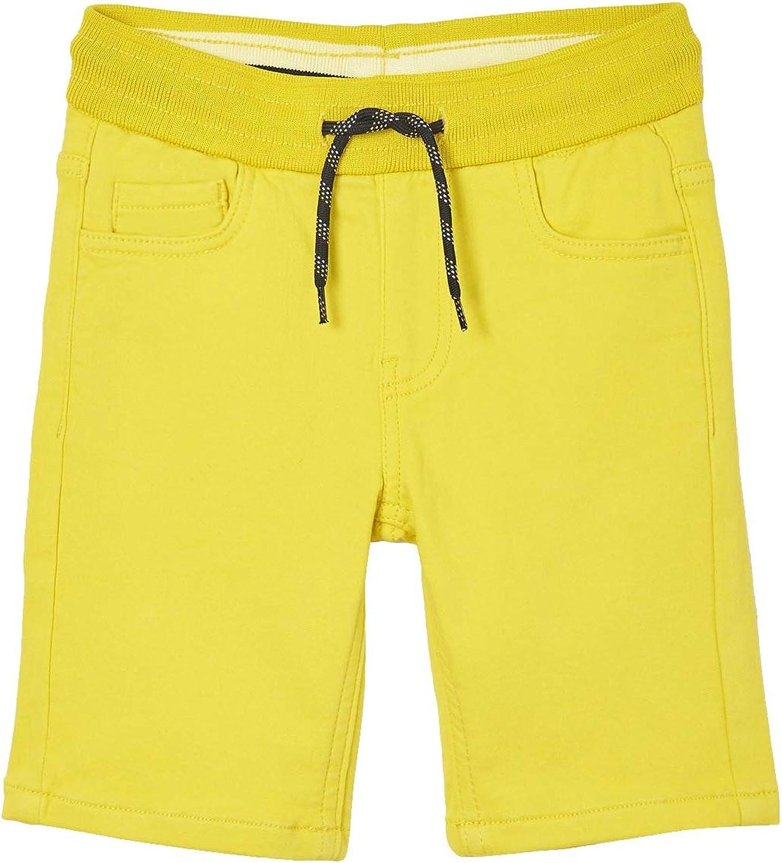 Mayoral - Soft Denim Shorts for Boys - 6291, Lemon