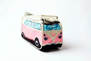 VW Volkswagen T1 Camper Van Toiletry Wash Bag - Pink - Multiple Color Options Available