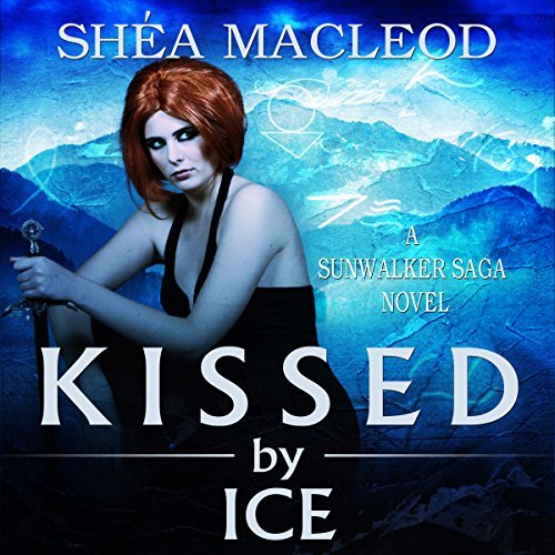 Kissed by Ice audiobook cover art