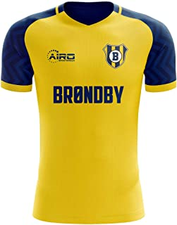 Airo Sportswear 2019-2020 Brondby Home Concept Football Soccer T-Shirt Jersey