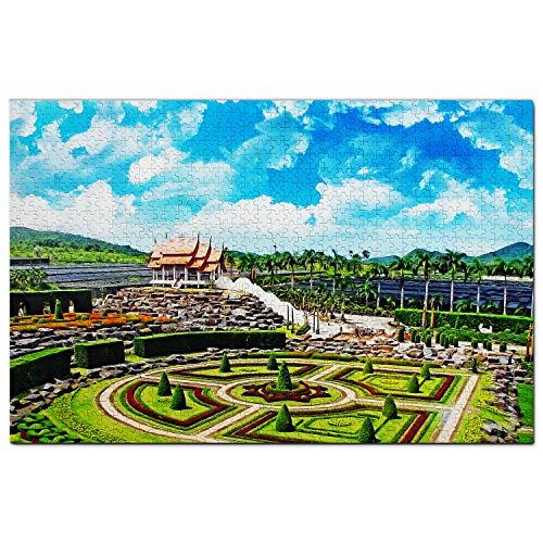 Tailandia Jardín Botánico Tropical Nong Nooch Pattaya Puzz