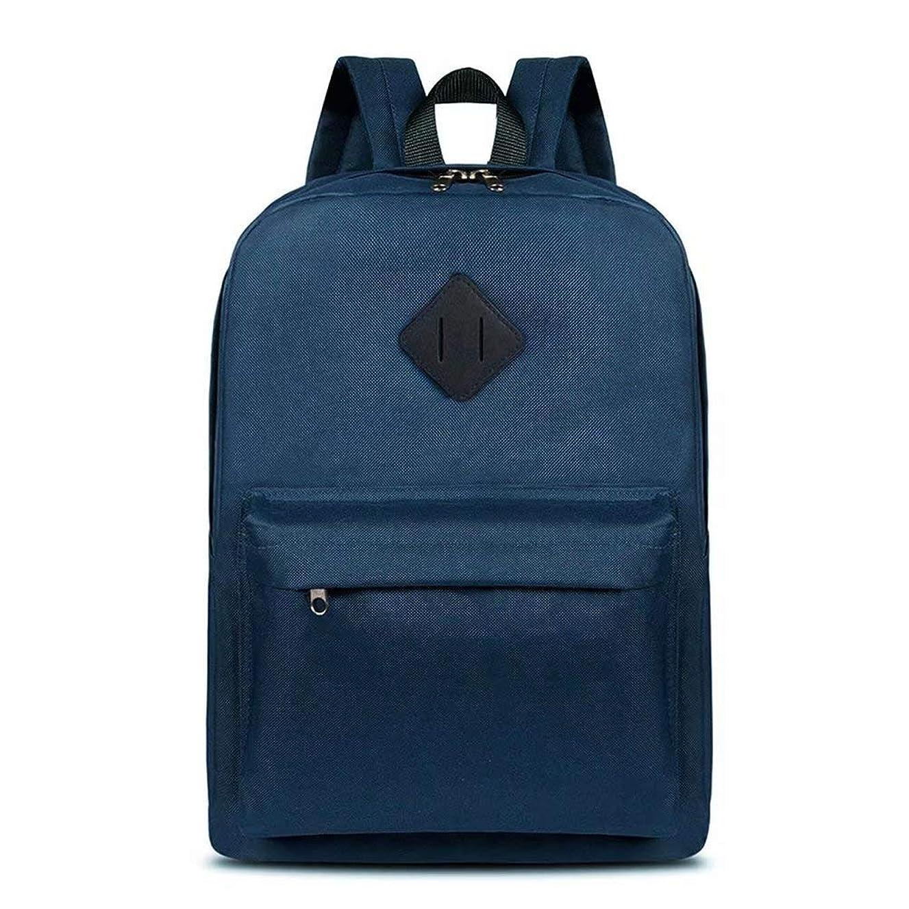 RUYEE Laptop School Backpack, Waterproof School Backpack for Men Women, Lightweight Anti-Theft Travel Daypack College Student Rucksack Fits 14-inch Computer/MacBook Blue