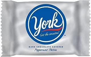 YORK Dark Chocolate Peppermint Candy (Patties), 25 Pound Bulk Candy