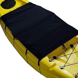 LIOOBO Spray Kayak Cubierta de la Cubierta de la Falda de Nylon Ajustable Canoa Cubierta de la carlinga Sprayskirt Cubierta Impermeable Kayak Accesorio