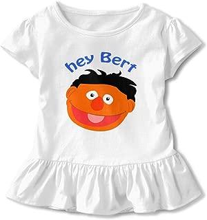 Hey Bert Children's Place Girls' Short Sleeve Active Top Novelty Tee