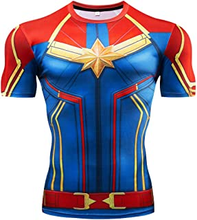 Men's Super-Hero Compression Sports Fitness Elastic Gym Shirt Quick-Drying Running