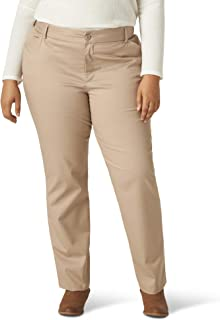 Lee womens Wrinkle Free Relaxed Fit Straight Leg Pant Pants