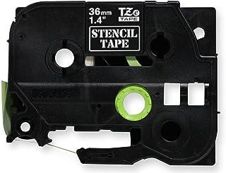 エッチングマシン ステンシルテープ 36㎜幅 P-TOUCH TZe-TAPE 国内未発売商品 ブラザー工業