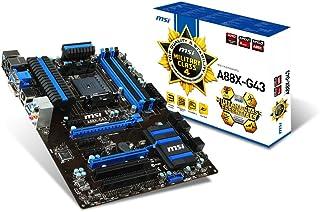 MSI A88X-G43 7793-001R Motherboard (2xDDR3, 2133 SATA3, USB3.0, Socket FM2)