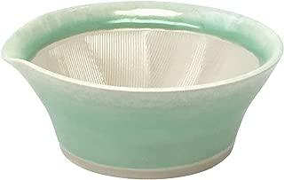 元重製陶所 国産 石見焼 離乳食にも使える カラーすり鉢 若草色 046043