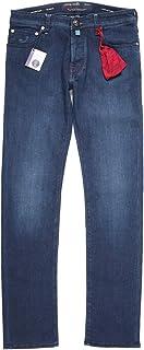 [32] [JACOB COHEN] ヤコブコーエン ジーンズ メンズ ブルー 青 J688 [18491] [並行輸入品]