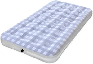 Giftway Twin Size Inflatable Air Mattress for Camping - Upgraded Height 9