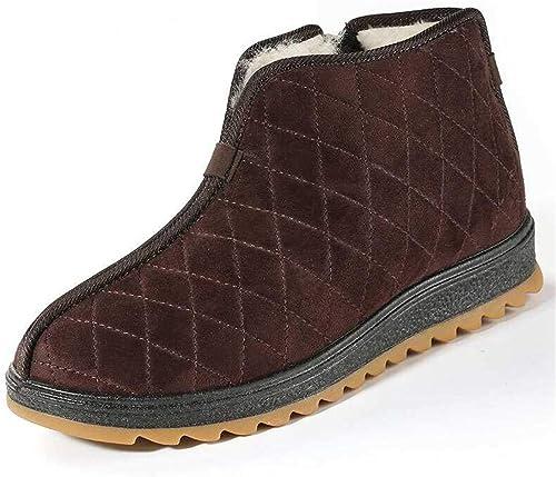 CAI&HONG-Domestics GHH Vieux Beijing Beijing Chaussures en Tissu Hommes Chaussures en Coton Plus Velours