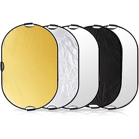 Walimex Pro 5 In 1 Faltreflektor Set Wavy Gold Silber Kamera