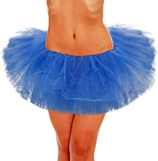 Adult Skirt, Women Tutu, Tulle Tutus for Teens Polyester Classic 5 Layers
