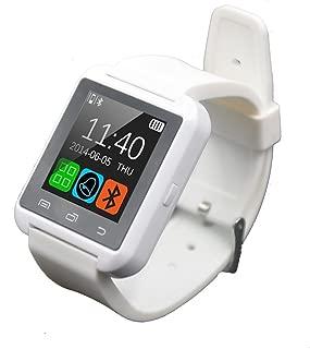 FunnTech Smart Watch with Bluetooth Pedometer Sleep Monitor Activity Tracker Fitness Tracker (White)
