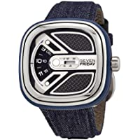 Sevenfriday Urban Explorer Automatic Black Dial Men's Watch