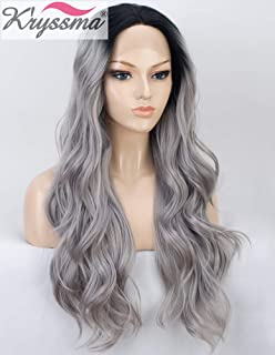 Best grey ombre lace front wig Reviews