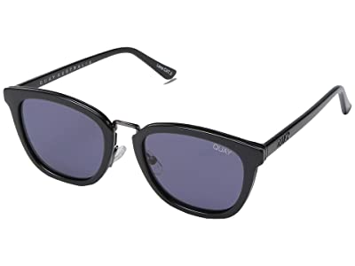 QUAY AUSTRALIA Run Around (Black/Smoke) Fashion Sunglasses