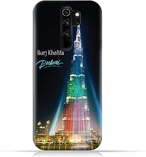 AMC DesignXiaomi Redmi Note 8 Pro TPU Silicone Case with Burj Khalifa Illuminated Pattern
