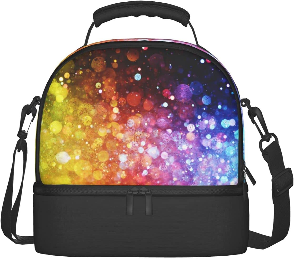 Fantasy Abstract Art Lunch Price reduction Bag Adjustable Shoulder Strap Insulat discount