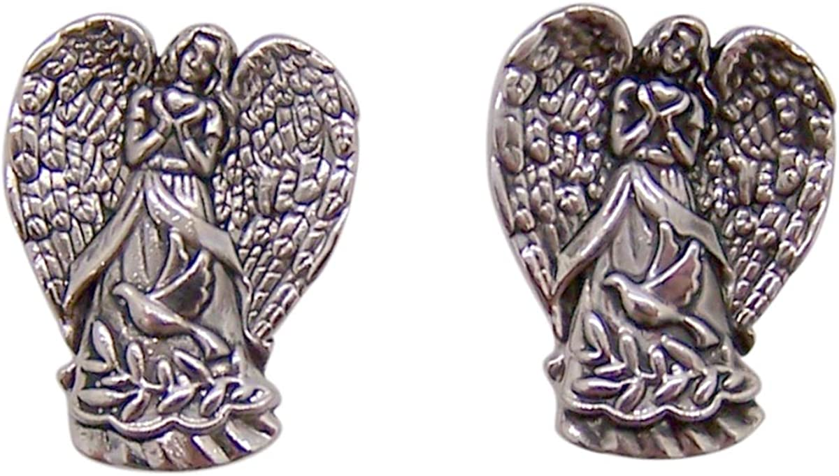 Wowser Peace Dove Guardian Angel Lapel Pin, Set of 2, 1 Inch